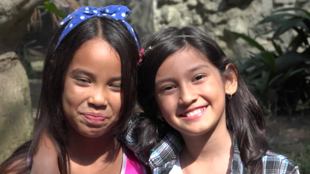 Happy Hispanic Female Friends video