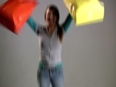 Happy Jumping Shopper video