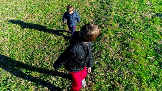Happy Kids Running video