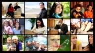 Happy lifestyles, video montage video
