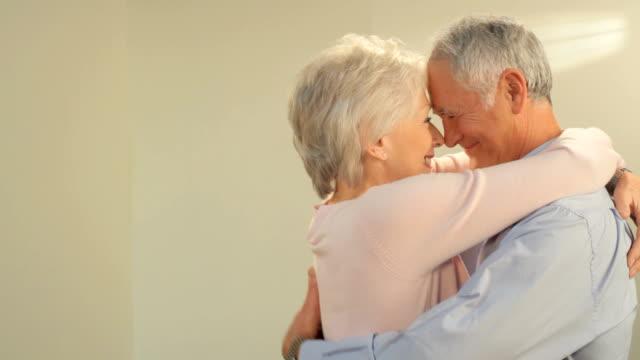 happy mature couple video