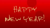 Happy New Year Animation video