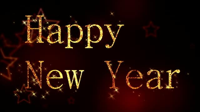 Happy New Year loop video
