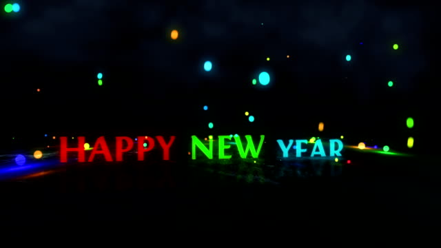 Happy New Year video