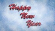 Happy New Year video