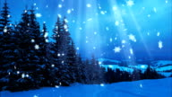 Happy New Year,Christmas,3d winter background 2017 video