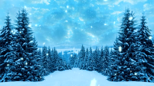 Happy New Year,Christmas,winter background video
