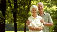 HD DOLLY: Happy Senior Couple In Embrace video