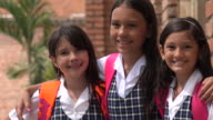 Happy Smiling School Children video