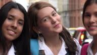 Happy Smiling Teen Girls video