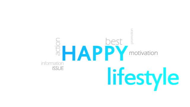 Happy, Typography video