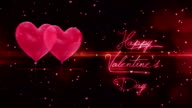 Happy valentines day greetings video