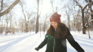Happy winter holiday. video