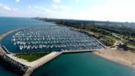Harbor boats video