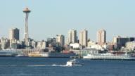 Harbor Traffic, Elliott Bay, Seattle video