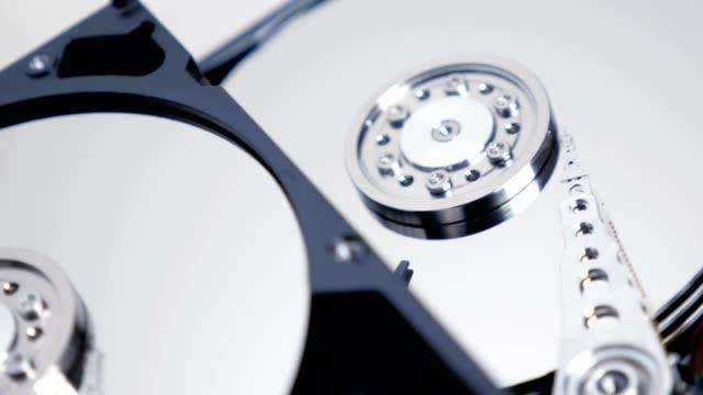 Hard Disk Drive Track Shot 03 4K video