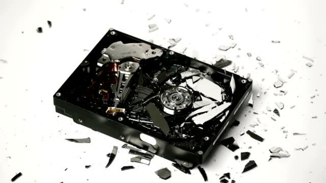Hard Disk Hammered and Destroyed video