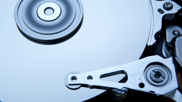 hard disk operating video