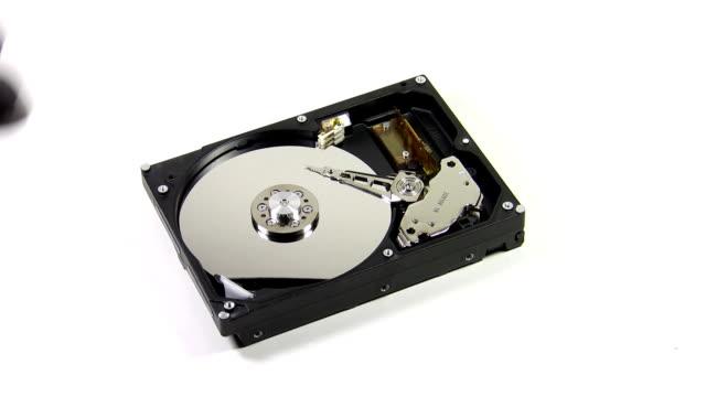 Hard drive destruction video