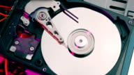 Hard drive initializing and stopping video