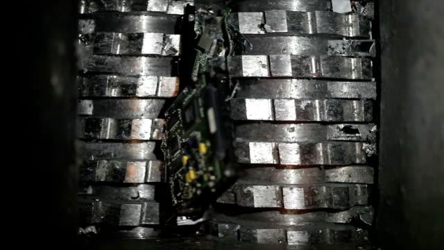 Hard drive shredder video