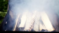 Hard Smoke in Braizer video