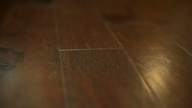 Hardwood Floor Detail Close Up Move video