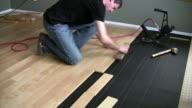 Hardwood Installation video