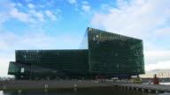 T/L Harpa Reykjavik - concert hall and conference centre video