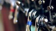 Harph close-up video video
