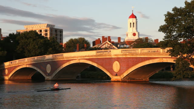 Harvard University and the Charles River video