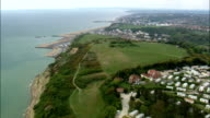 Hastings  - Aerial View - England,  East Sussex,  Hastings District,  United Kingdom video