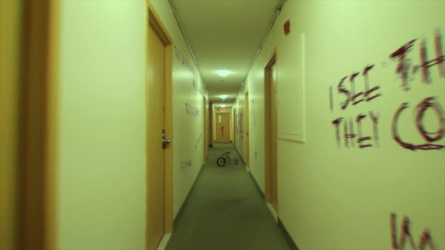 Haunted corridor video
