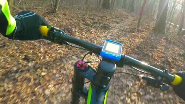 POV Have fun on the trail. video
