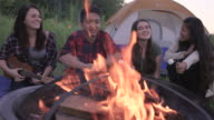Having a Campfire with Friends video