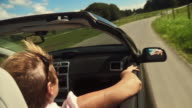Having A Ride In Convertible video