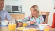 Having Breakfast video