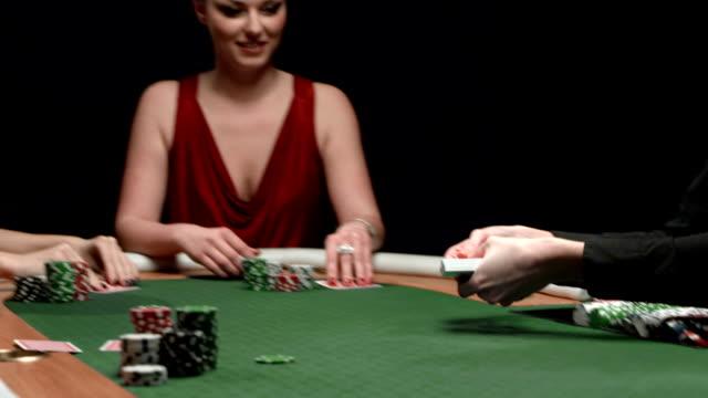 HD DOLLY: Having Fun Playing Poker video