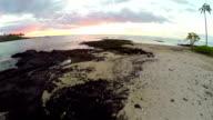 Hawaii Sunset Aerial video