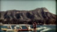 Hawaii Surfing 1940's video