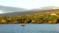 Hawaiian Outrigger Canoe - Kailua-Kona, Hawaii video