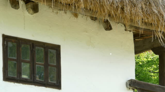 Hay Roof and Wooden Window video