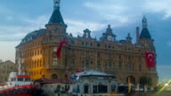 Haydarpasa Train Station Evening Time video