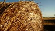 Haystacks on the field 4 video