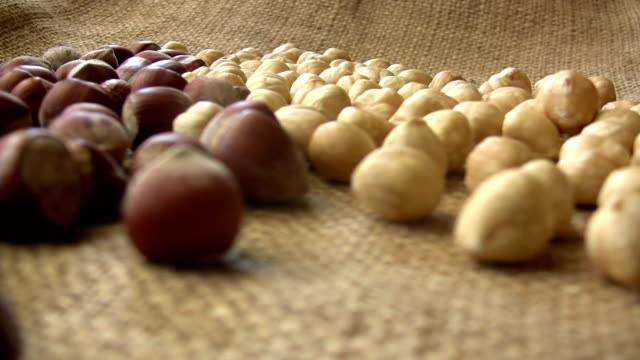 Hazelnuts video