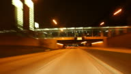 HD1080p: Night Driving  in Chicago Part 1 video