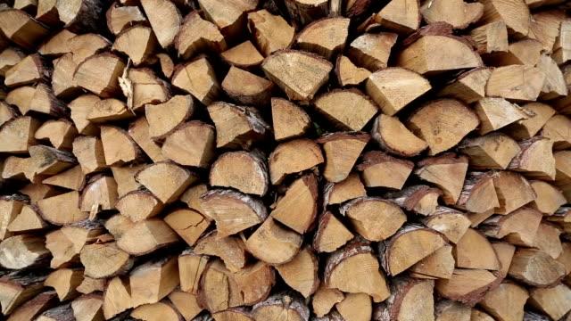 HD_Stored wood video