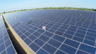 HD:Aerial view of Solar Farm. video
