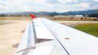 HD:Airplane take off. video