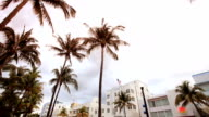 Hd:Art-deco hotels and restaurants in South Beach video